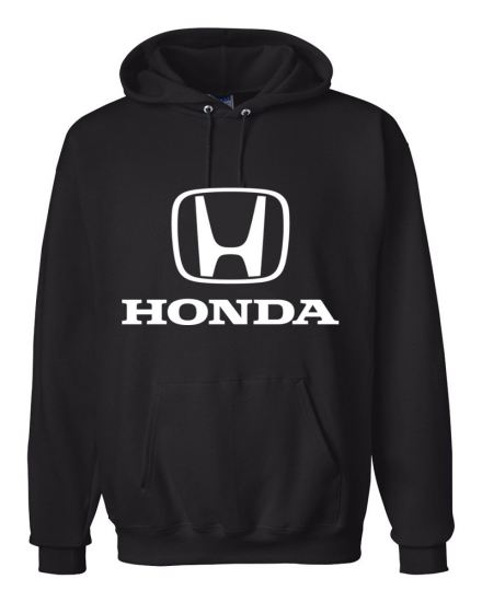 Honda Black Hooded Sweat Shirt