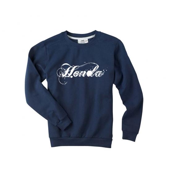 Honda Ladies Navy Sweatshirt