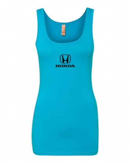 Honda Ladies Turquoise Long Tank Top