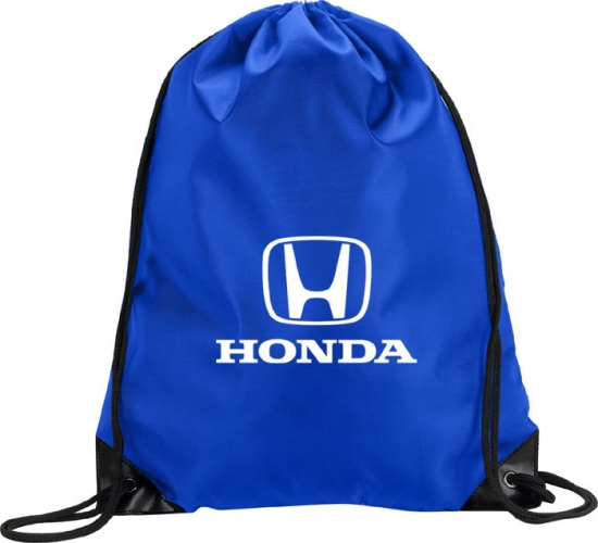 Honda Blue Drawstring Bag