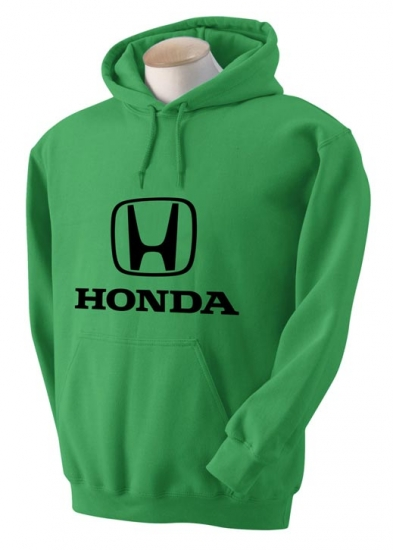 Honda Kelly Green Hooded Sweat Shirt