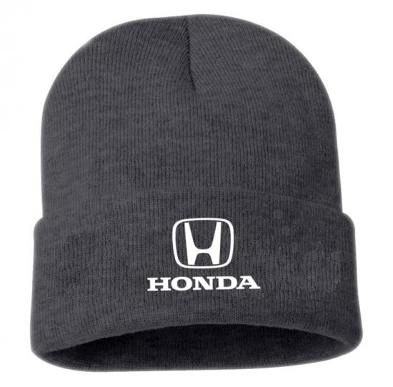 Honda Grey Logo Beanie