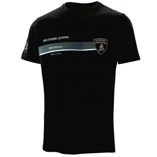 Automobili Lamborghini Squadra Corse Tee Shirt