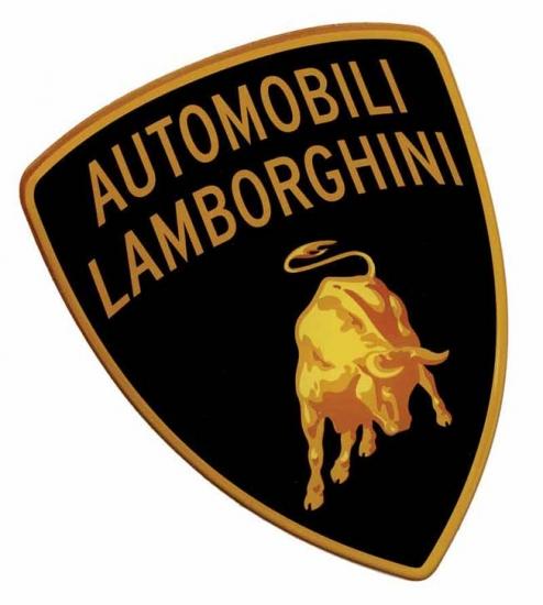 Automobili Lamborghini Double Sided Sticker
