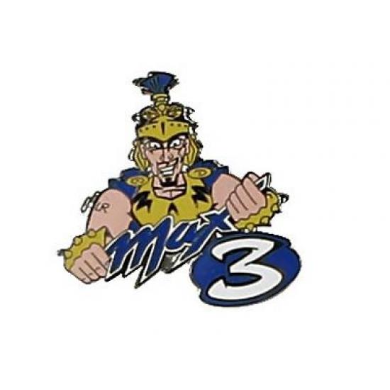 Max Biaggi Logo Pin