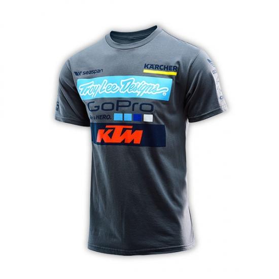 KTM TLD Team Grey Tee Shirt