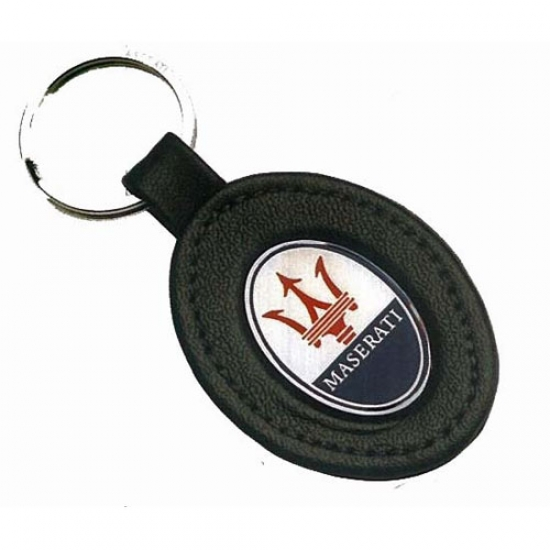 Maserati Leather Keychain