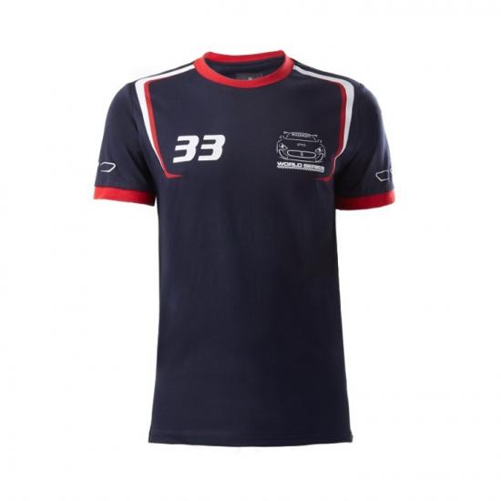 Maserati Trofeo 14 Team Navy Tee Shirt