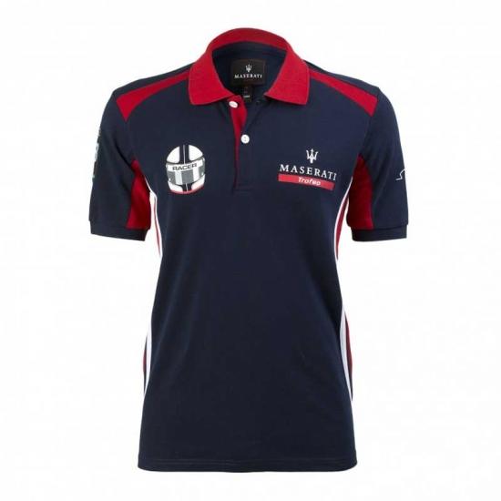 Maserati Trofeo Team Navy Polo Shirt