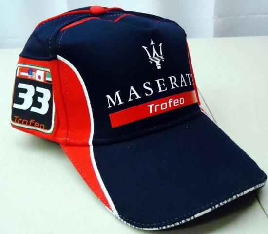 Maserati Trofeo Navy Team Hat