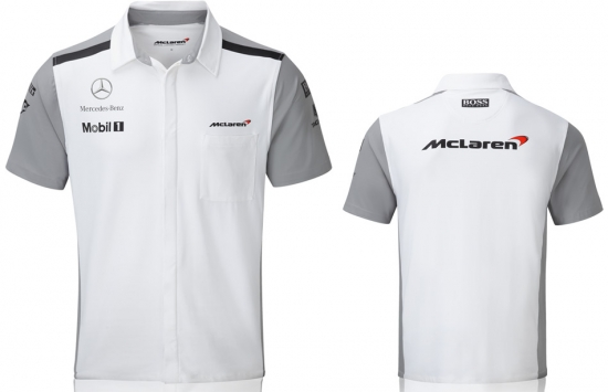 McLaren Mercedes F1 Team Crew Shirt 2014