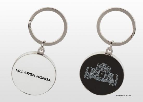 McLaren Honda F1 Team Keychain