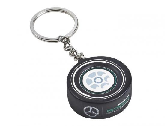 Mercedes AMG Petronas F1 Tire Keychain