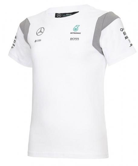 Mercedes AMG F1 Kids White Team Tee