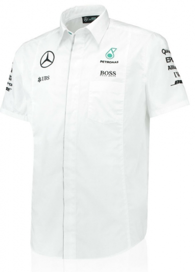 Mercedes AMG F1 White Team Shirt
