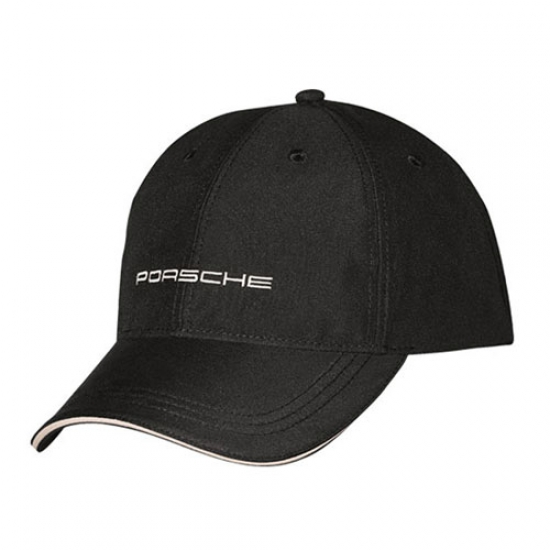 Porsche Black Logo Hat