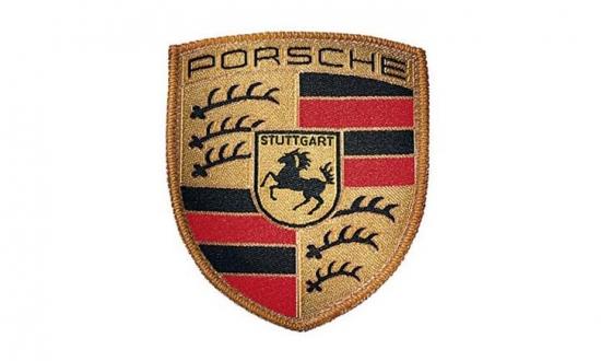 Porsche Crest Logo Patch
