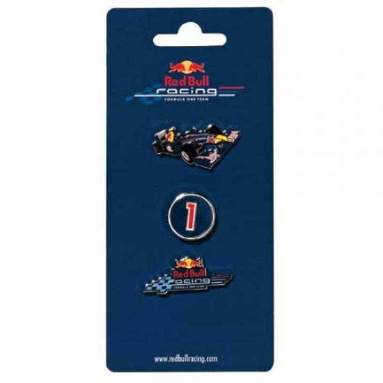 Red Bull Racing F1 Pin Set