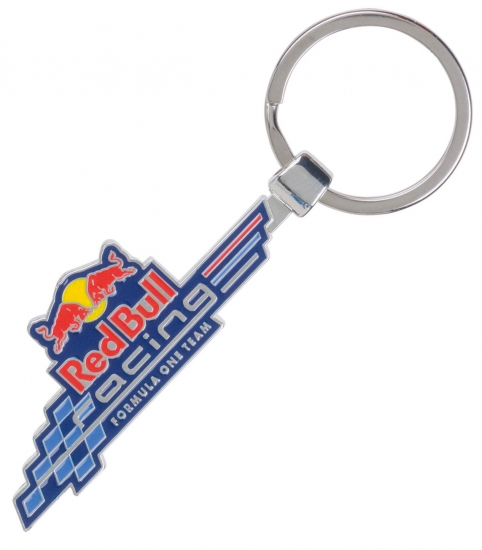 Infiniti Redbull Racing Metal Logo Keychain