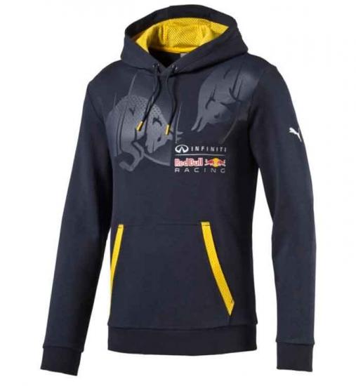 Puma Red Bull Racing Graphic Hooded Sweat
