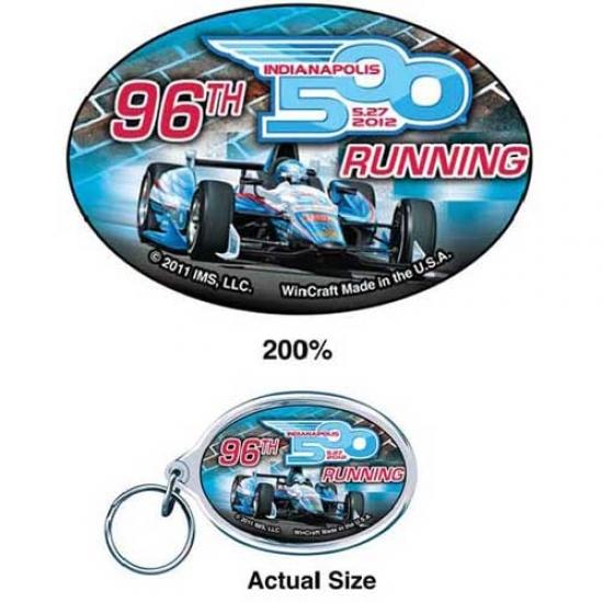 Indy 500 Logo Keychain
