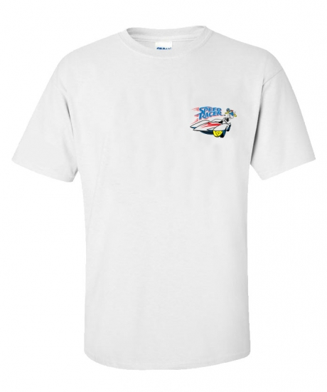 Speed Racer Speed White Tee Shirt