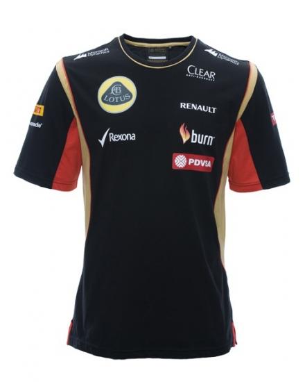 Lotus F1 Renault Team Tee Shirt