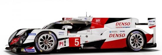 1:43rd Toyota Gazoo Racing #5