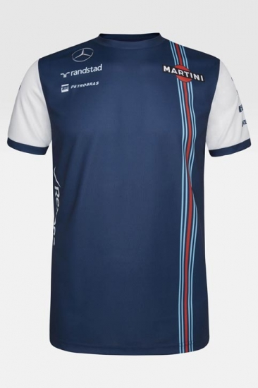 Williams Martini Racing Team Sponsor Jersey 2015