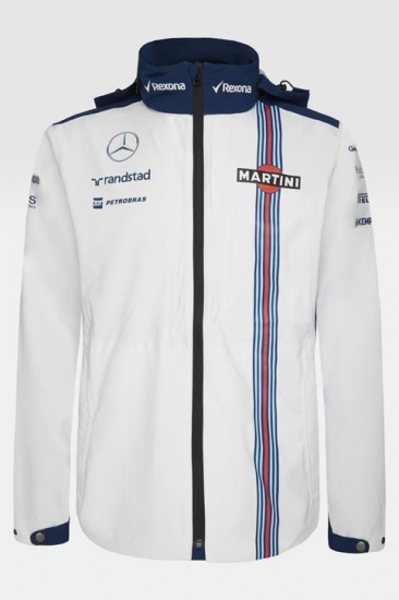 Williams Martini Racing Rain Jacket