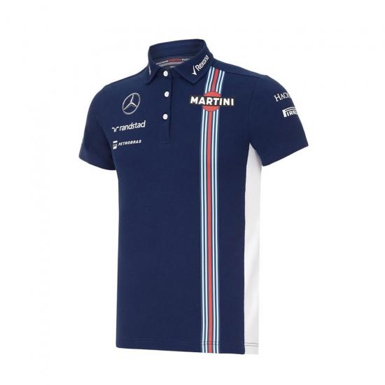Williams Martini Racing Navy Team Polo