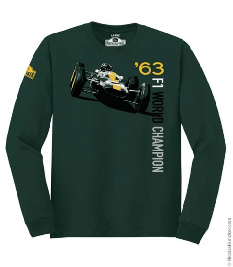 Hunziker Jim Clark F1 Long Sleeve Tee