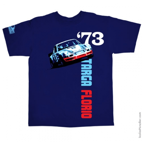 Hunziker 911 Targa 1973 Navy Tee Shirt