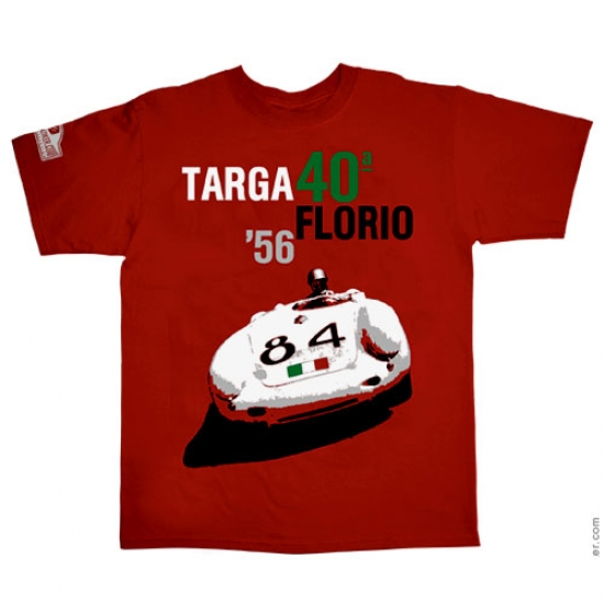 Hunziker Targa Florio 1956 Tee Shirt
