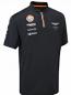 Aston Martin Racing Team Zip Polo Shirt 2015