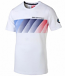 BMW Motorsport Puma Graphic White Tee Shirt