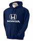 Honda Navy Hooded Sweat Shirt