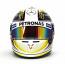 Lewis Hamilton Mercedes AMG F1 1:2 Helmet 2015