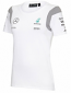 Mercedes AMG F1 Ladies White Tee Shirt