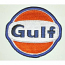 Gulf Oil Race Team Patch
