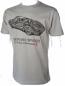 Porsche 550 Spyder Retro Grey Tee Shirt