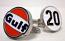 Gulf Le Mans Racing Logo Cufflinks