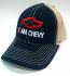 Retro Team Chevy Trucker Black Hat
