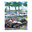 St. Pete By the Bay Serigraph 2011