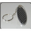 Carbon Fiber Keychain Black