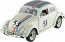 Herbie The Love Bug 1963 Volkswagen Beetle 1:18th