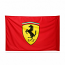 Ferrari Shield Logo Flag
