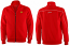 Ferrari Red Shield Zip Sweatshirt
