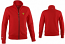Ferrari Ladies Red Zip Sweatshirt