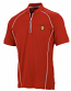 Ferrari Red Performance Zip Shirt